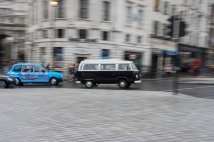30mm, ISO400, 1/10 Sec, F20 whilst panning with the camper van