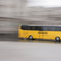 28mm, ISO 100, 1 Sec, F25 whilst panning with the coach